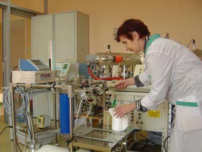 Высоковакуумная установка для выделения СO2 из микроколичеств карбонатов