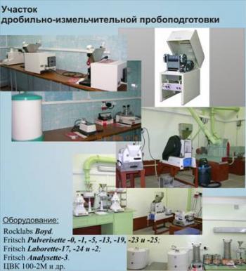 Rocklabs Boyd; Fritsch Pulverisette; Laborette; Analysette-3; ЦВК 100-2М